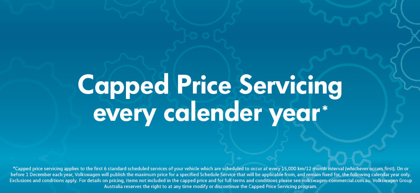 Capped Price Servicing every calendar year